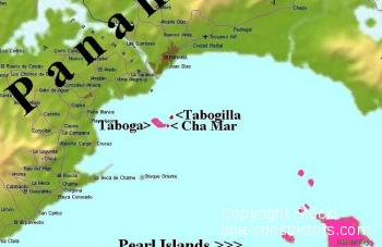 Karte_Taboga_Insel_Komplex_Panama